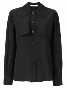 Givenchy layered front shirt - Black