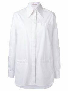 Christopher Kane Velcro shirt - White