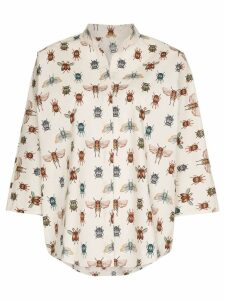 Johanna Ortiz Bugs Life printed shirt - Neutrals
