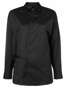 Dsquared2 plain belted shirt - Black