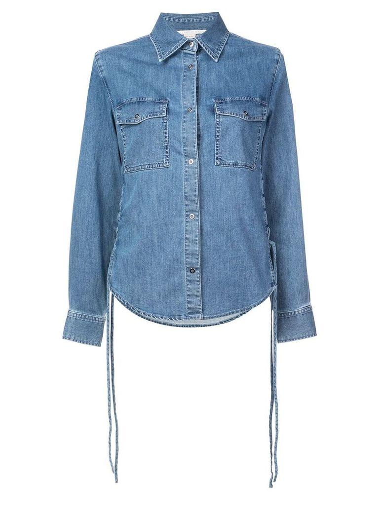 Stella McCartney slim denim shirt - Blue