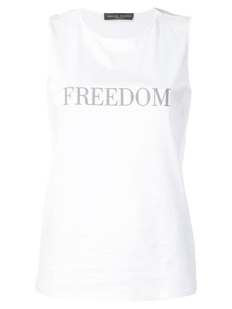 Fabiana Filippi Freedom tank top - White