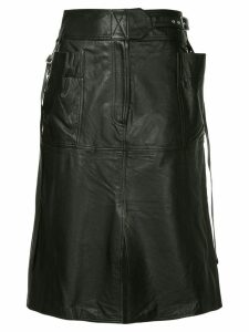 Ambush A-line skirt - Black
