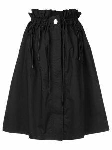 Proenza Schouler Poplin Paperbag Skirt - Black
