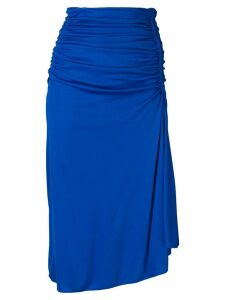 Emilio Pucci Ruched Mid-length Skirt - Blue