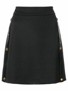 Versus mini a-line skirt - Black