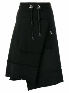 Diesel asymmetric skirt - Black