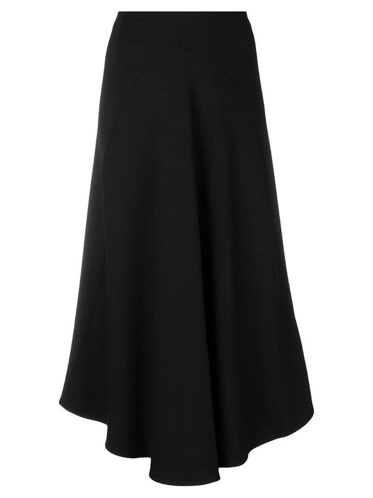 Vince asymmetric hem skirt - Black