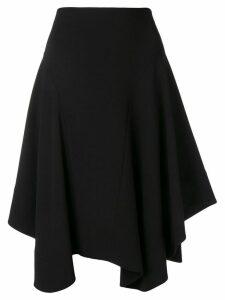 Chloé handkerchief hem midi skirt - Black