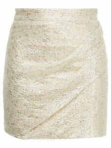Manning Cartell Flash Bulb mini skirt - Metallic