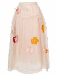 Simone Rocha tulle skirt - Yellow