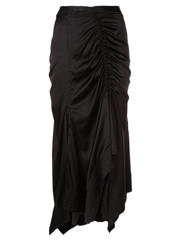 Tanya Taylor flared midi skirt - Black