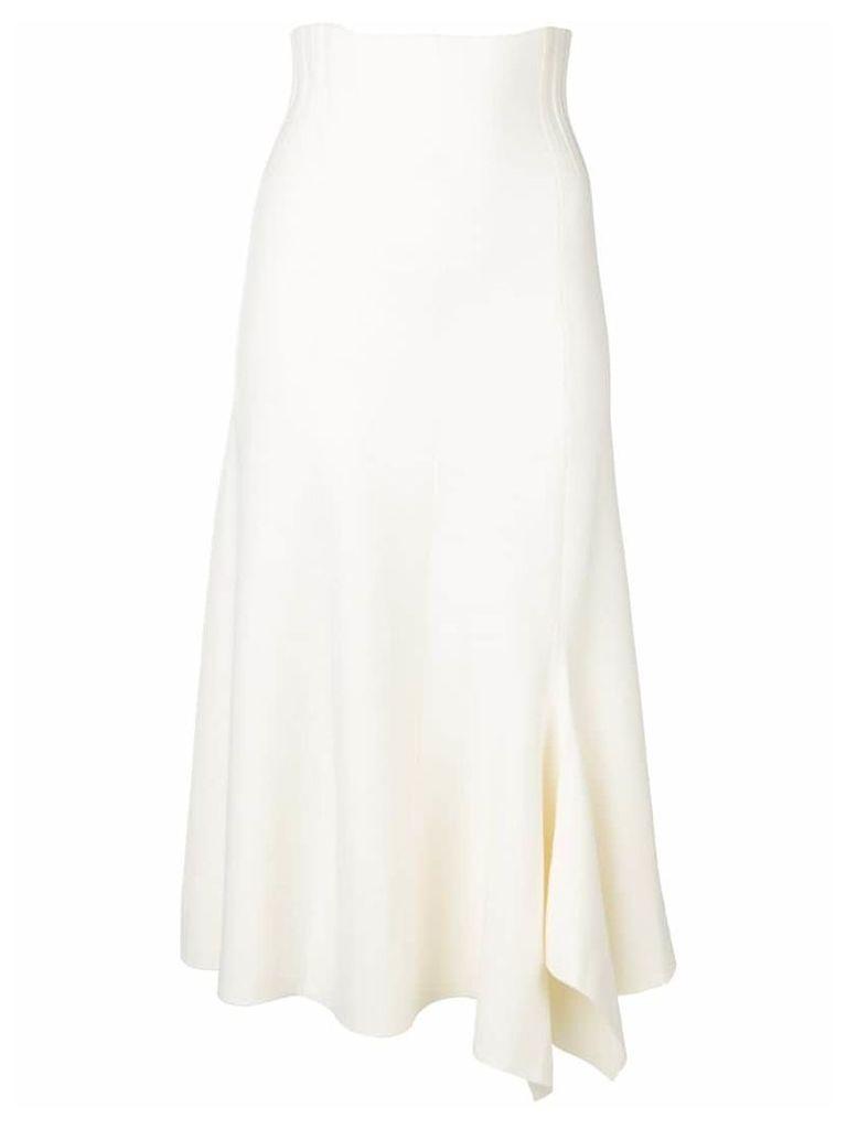 Dorothee Schumacher Poetic draped skirt - White