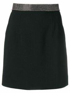 Christopher Kane crystal-band mini skirt - Black