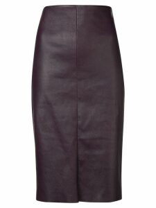 Drome high waisted pencil skirt - Purple