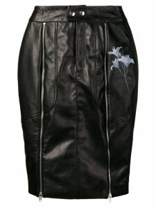 Each X Other flower biker skirt - Black