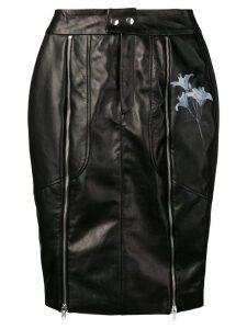 Each X Other flower biker skirt - Black