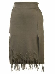 Haculla Dying to live fringed skirt - Green