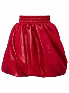 Miu Miu pleated detail skirt - Red