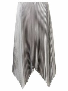 Fabiana Filippi pleated midi skirt - Grey