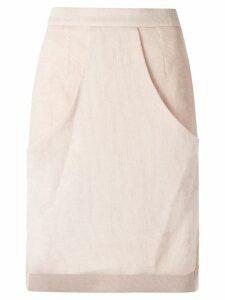 Olympiah high waisted skirt - Neutrals