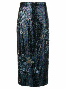 Erdem sequined skirt - Black