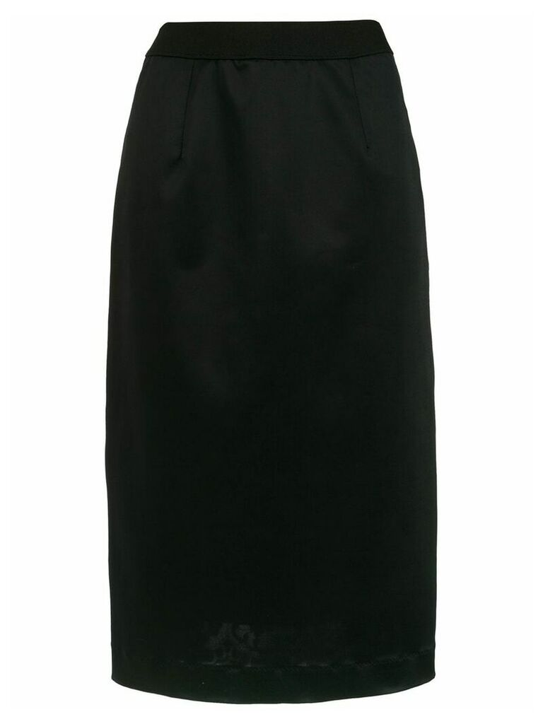 À La Garçonne lace inserts skirt - Black