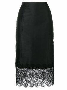 Dorothee Schumacher Delicately Offbeat midi skirt - Black
