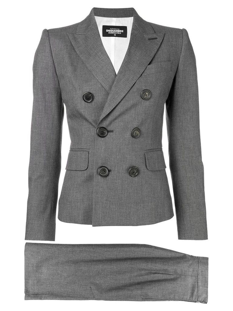 Dsquared2 two-piece skirt suit - Grey