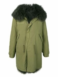 Mr & Mrs Italy shearling-lined parka - Green
