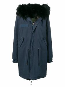 Mr & Mrs Italy fur-lined parka - Blue