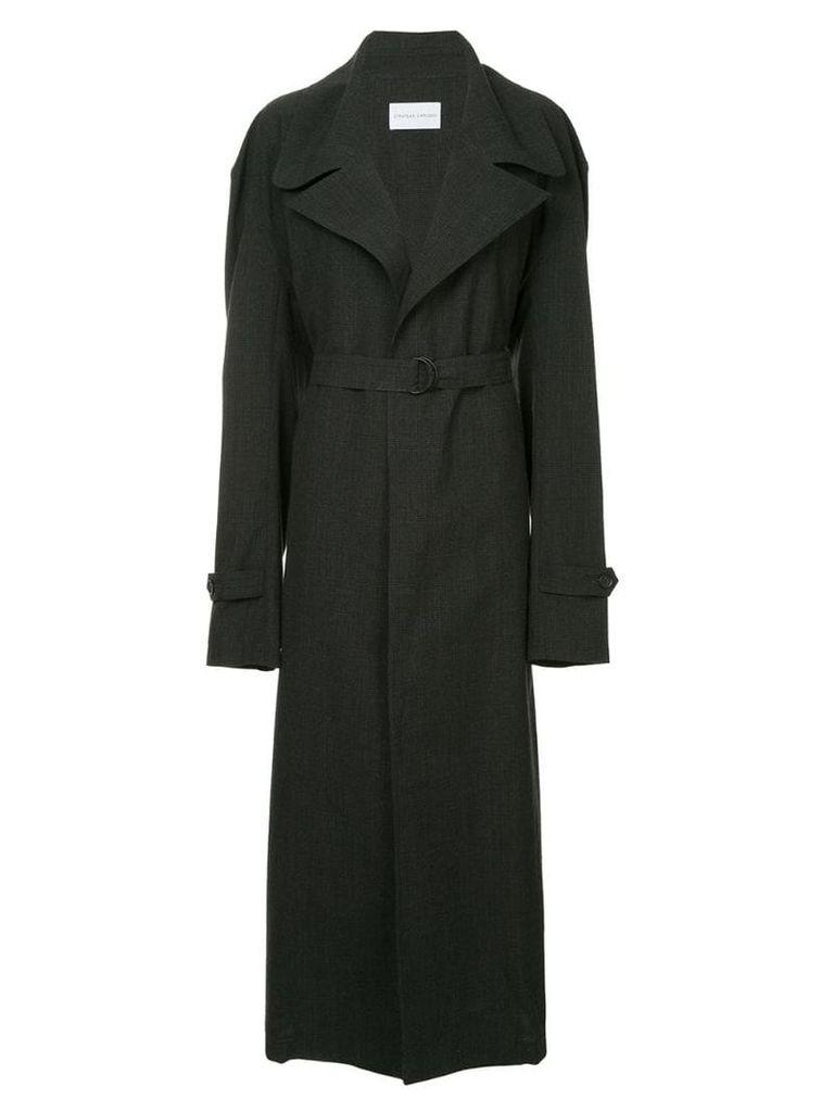 Strateas Carlucci Meta trench coat - Grey