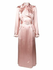 Fleur Du Mal classic fitted trench coat - Pink