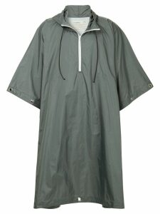 A-Cold-Wall* oversized pull-over raincoat - Grey