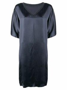 Fabiana Filippi v-neck midi dress - Grey
