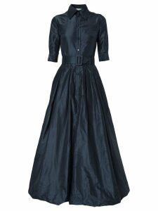 Oscar de la Renta bubble hem gown - Blue