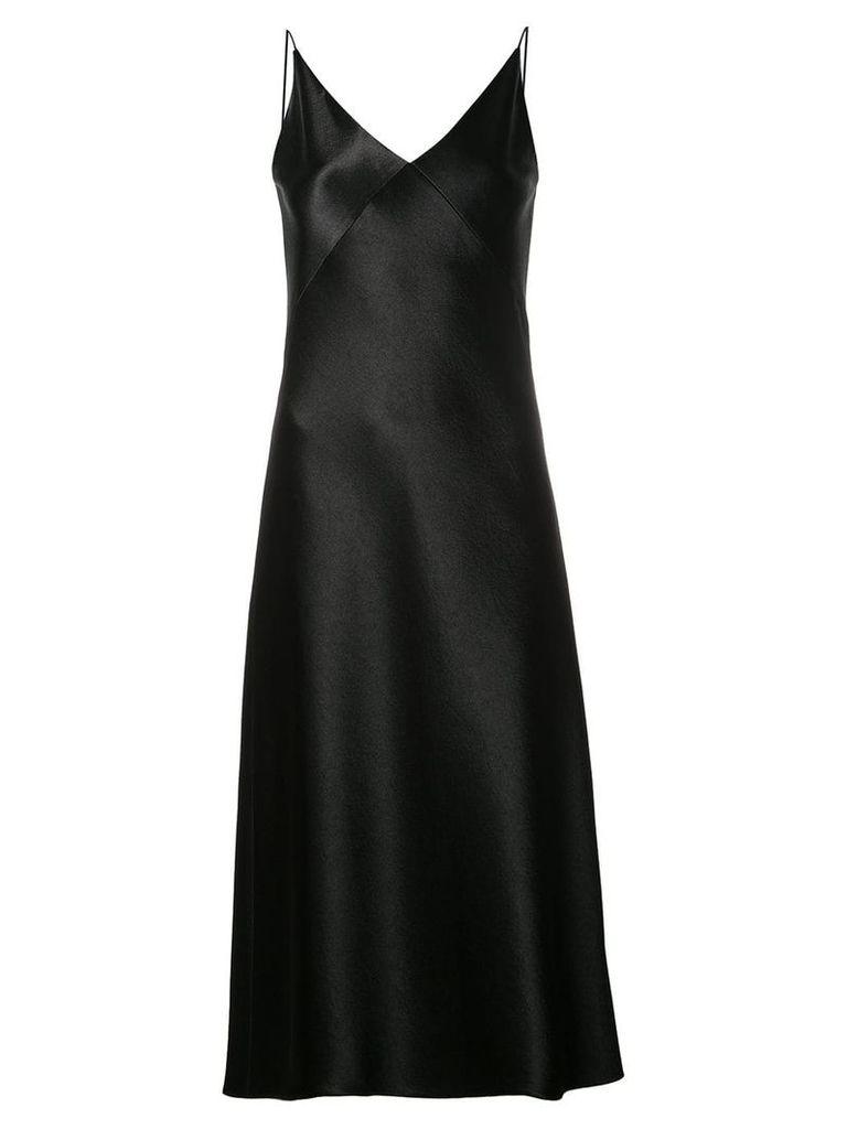 Vince bias cut midi dress - Black