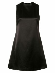 Alice+Olivia Coley mock neck short dress - Black