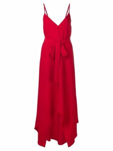 Valentino belted maxi dress - Red