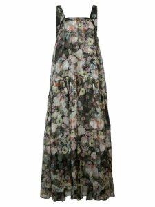 Adam Lippes long floral dress - Multicolour