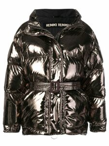 Ienki Ienki foil-like puffer jacket - Metallic