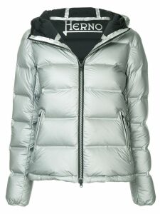 Herno hooded padded jacket - Grey
