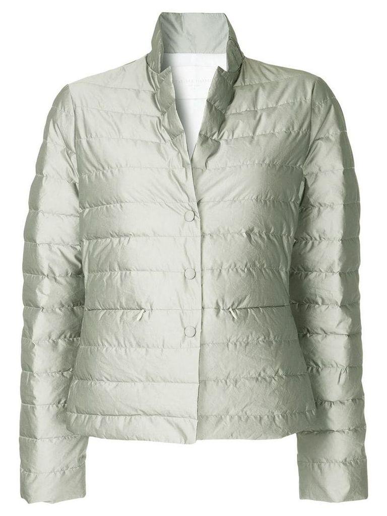 Fabiana Filippi buttoned puffer jacket - Grey