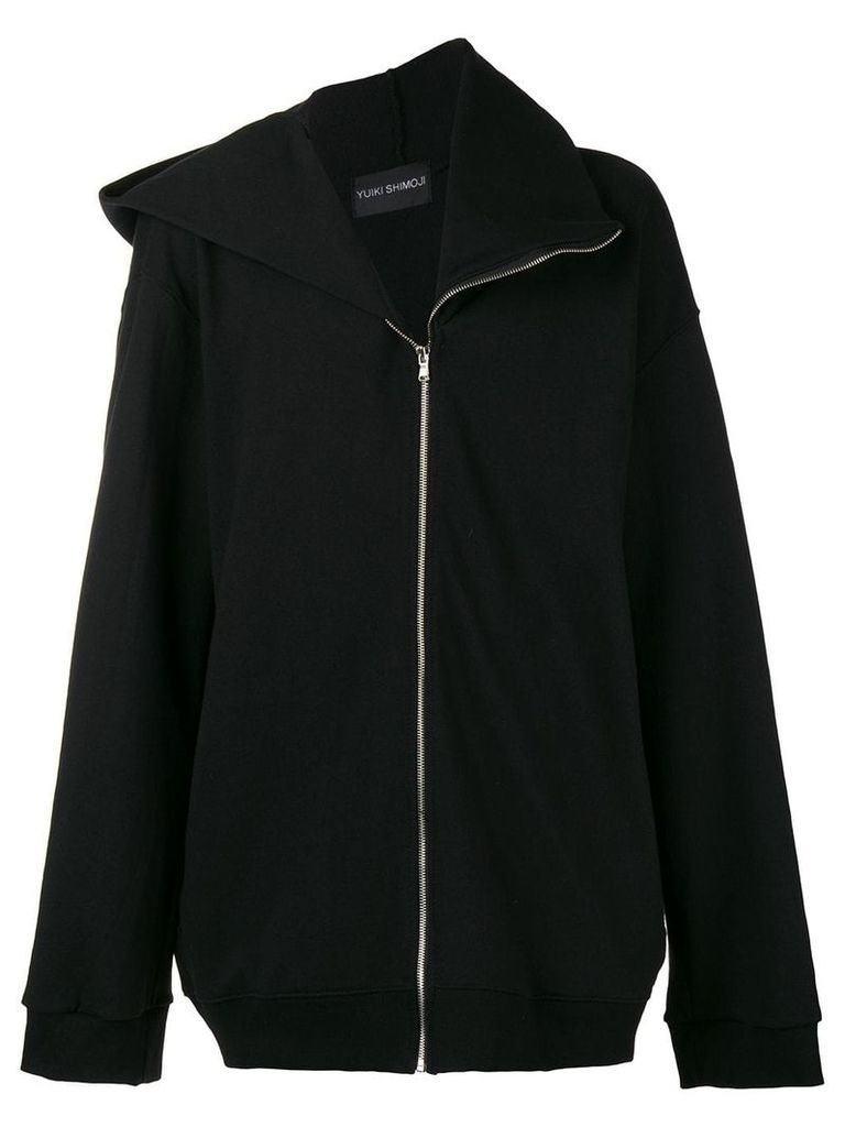 Yuiki Shimoji rear print jacket - Bk