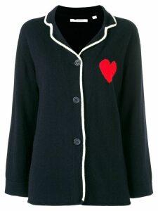 Chinti & Parker heart cardigan - Blue