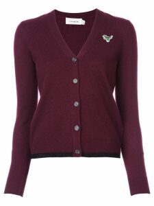Coach Rexy patch cardigan - Red