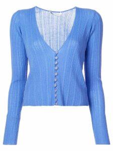 Altuzarra v-neck cardigan - Blue