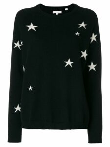 Chinti & Parker star knit cashmere jumper - Black