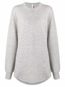 Extreme Cashmere oversized long-sleeve sweater - Grey