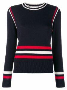 Chinti & Parker colour-block striped sweater - Blue